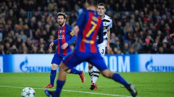 Egy kézzelfogható rekord, mit tud a legjobban a Barcelona