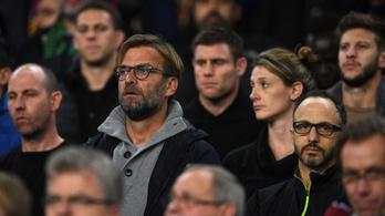 Klopp Barca-meccsre vitte a Liverpoolt