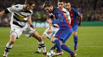 Messi új csele: egy helyben állós megkerülős