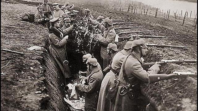 Az első világháború, a nyugati fronton