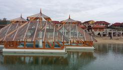 5000 négyzetméteres termáltó nyílik Demjénben