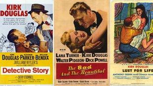 10 nagyszerű film a 100 éves Kirk Douglas-szel