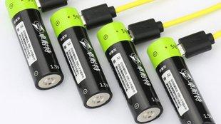 AA elem alakú, tölthető, USB csatlakozóval integrált Lipo akkumulátor tesztje
