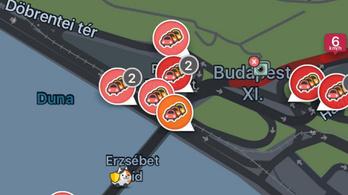 Tömegkoccanás az Erzsébet hídon, alakul a gigadugó