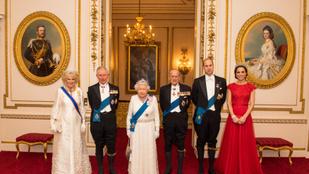 Egy majdnem tökéletes családi fotó készült Vilmos hercegékről
