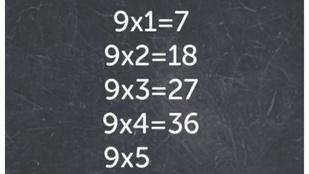 Tényleg csodálatos, hogy 9x1=7?