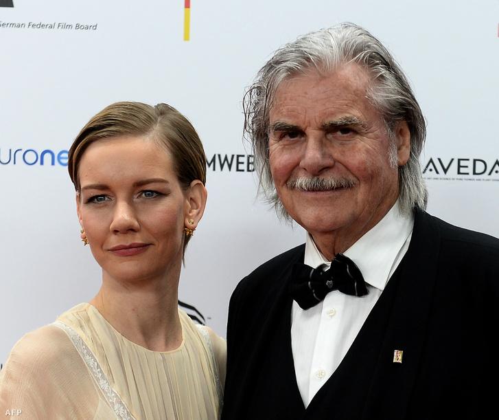 Sandra Hüller és Peter Simonischek, a Toni Erdmann című film főszereplői.