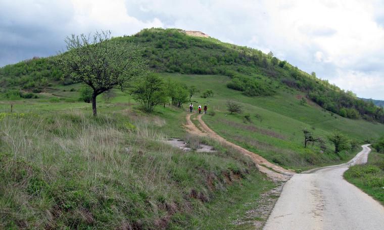 A Nap-piramishoz egy darabig autóút vezet, majd a fák között keskeny, köves ösvényeken lehet elérni a tetejét, körülbelül fél óra séta után.