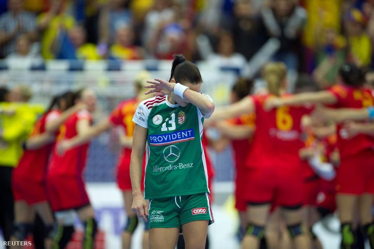 Görbicz Anita bánata a meccs lefújása után