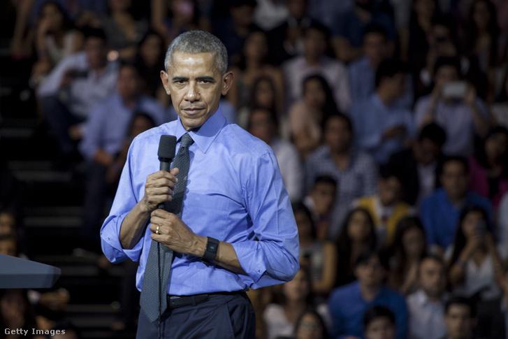 Obama egy limai egyetemen tartott town hall-stílusú beszélgetésen