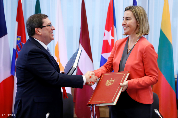 Rodriguez és Mogherini Brüsszelben
