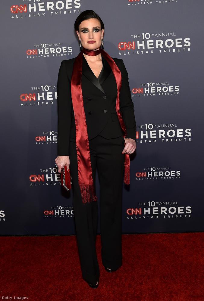 Idina Menzel CNN Heroes Galán is megjelent vasárnap este