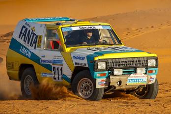 Feltámasztották a legendás Dakar-Nissant