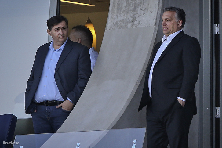 Orbán Viktor a felcsúti Pancho Arénában