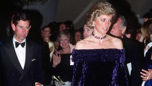 Mennyit adna Diana hercegnő bársonyruhájáért?