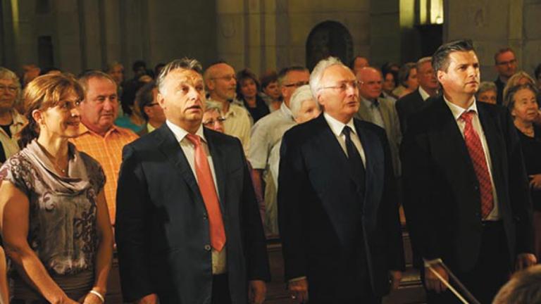 Orbán svájci követe is találkozott Pharaonnal