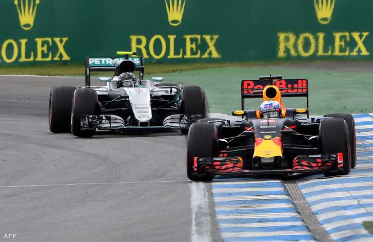 Red Bull a Mercedes előtt?