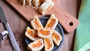 Pénteki süti: aszalt barackos alagútkekszek