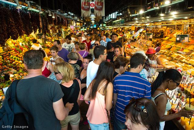 A barcelonai Boqueria piacon például tutira jól jön a titkos tatyó