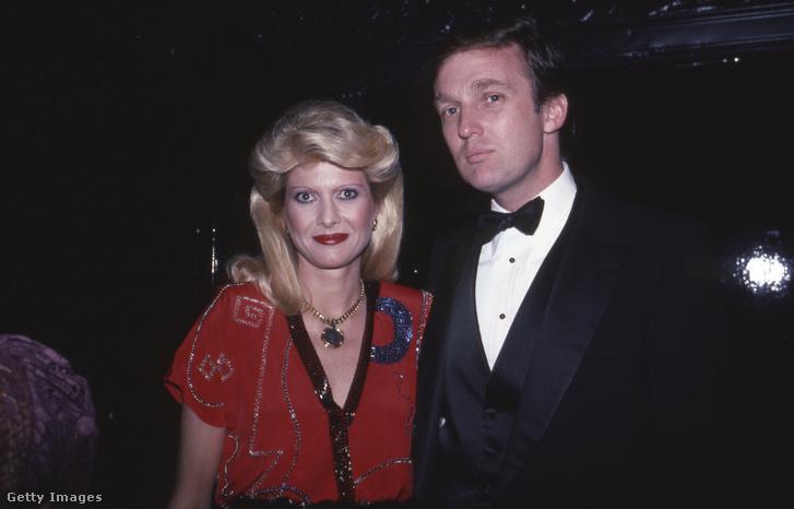 Ivana és Donald Trump 1982-ben