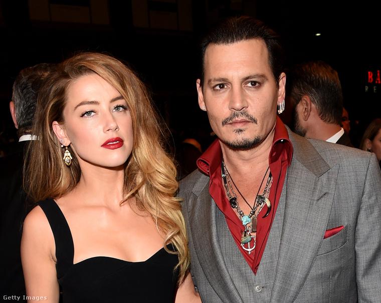 Amber Heard és Johnny Depp.