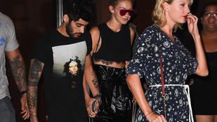Taylor Swift benyomta magát Gigi Hadid pasijának új zenéjébe