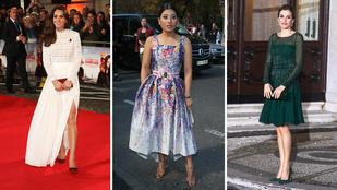 Így öltöztek a királynék és hercegnék 2016-ban