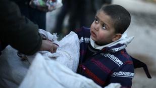 Segítsünk az Aleppóban ragadt gyerekeken egy kattintással!