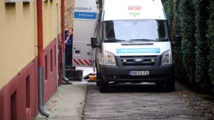Szirénázó rendőrségi kisbusz ütött el egy nőt Budapesten