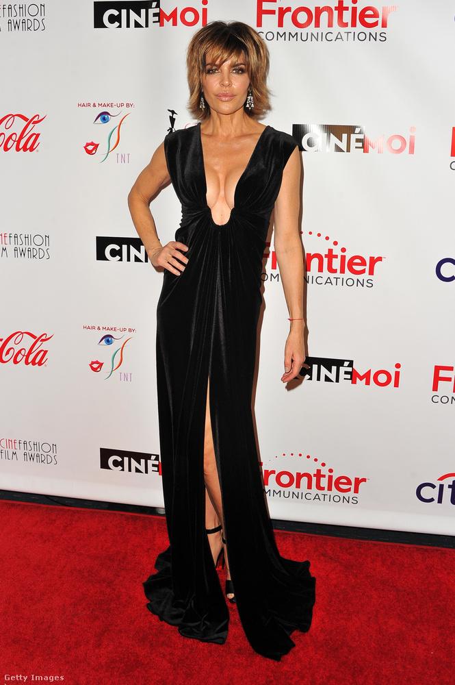 Ő például Lisa Rinna a Melrose Place-ből és a Real Housewives of Beverly Hillsből