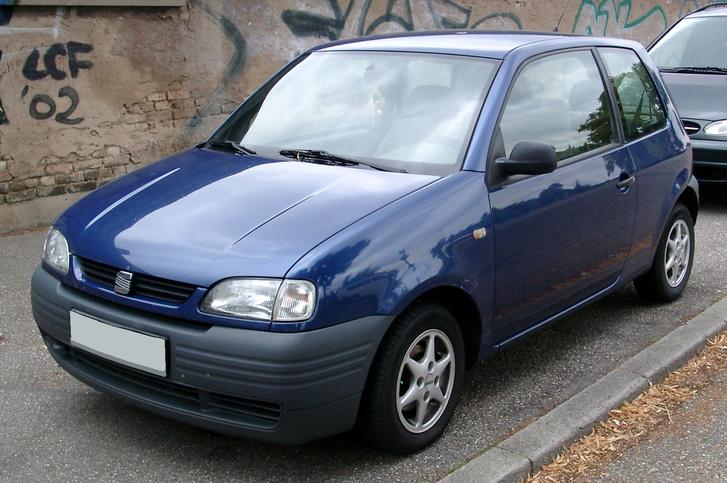 Seat Arosa front 20080722
