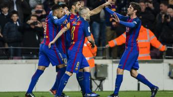 Ne gondoljuk, hogy Messitől indult be a Barca