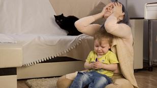 Nem szeretem a gyerekem, ha néha idegesít?