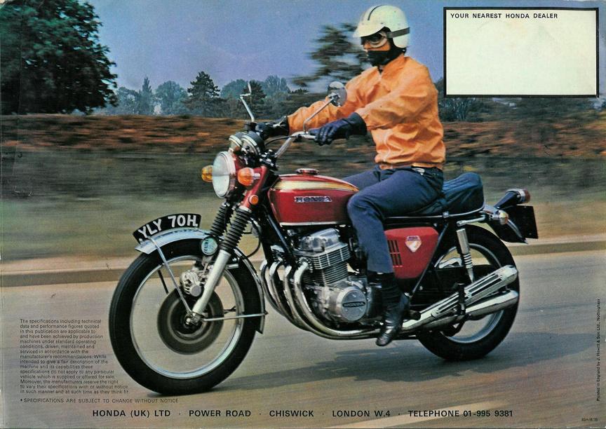 1968-ban kiszálltak, hogy a Forma-1-re és az utcai motorkerékpárok fejlesztésére koncentráljanak. 1969-ben mutatták be a CB750-et - ez volt az első olyan gép, amelyet superbike-ként emlegettek