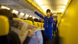 A részegekre, de egy vetélésre is fel vannak készítve a magyar stewardessek