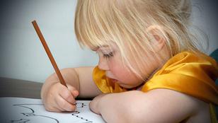 Baj, ha az óvodás gyerek nem rajzol?