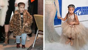 Kim Kardashian vagy Beyoncé lánya a trendibb?