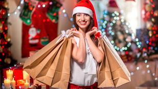 Plázában vásárol a magyar karácsonyra