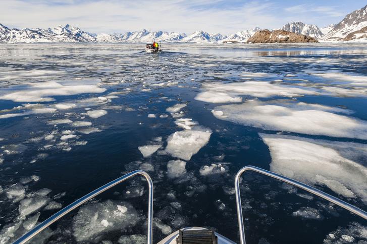 Olvad a grönlandi jég