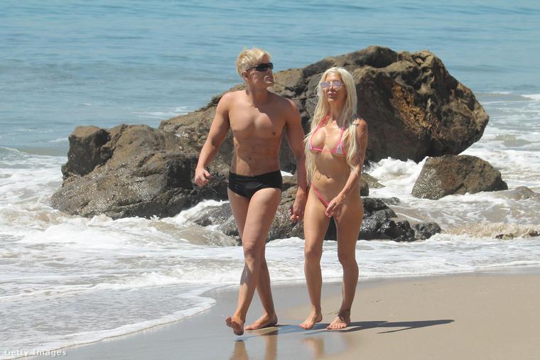 A brazil Kennek nevezett Mauricio Galdi a szintén kissé beteg sztripper-modell, Frenchy Morgan oldalán találta meg a boldogságot