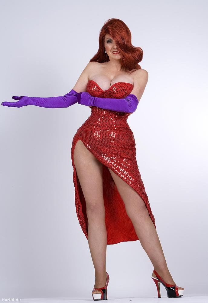 A mostanság leginkább nyúltenyésztőként tevékenykedő egykori modell, Annette Edwards a Roger nyúl a pácban című film egyik rajzolt szereplőjét választotta példaképnek