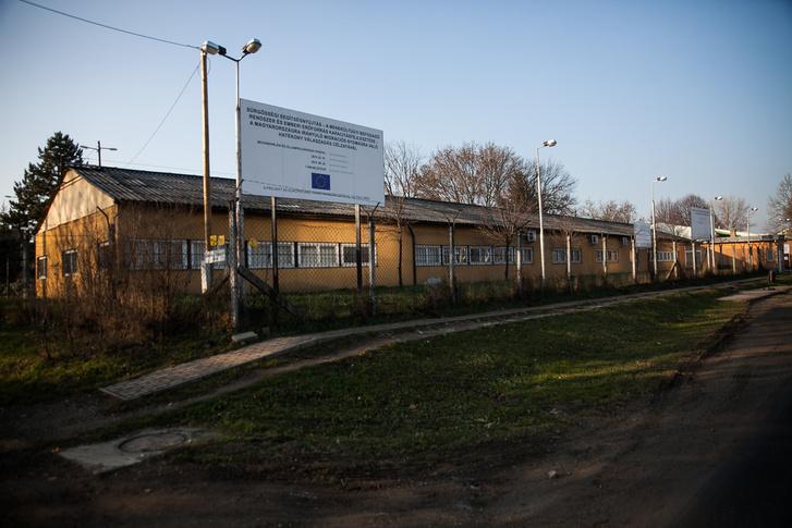 A bicskei menekülttábor, amelyet teljesen kiürítettek