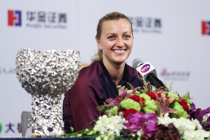 A WTA trófeájával idén Kínában