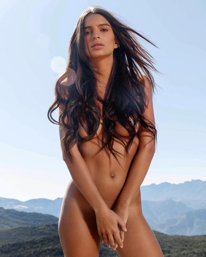 Az amerikai modell idén sem hozott szégyent szorgos meztelenkedéssel kiérdemelt hírnevére