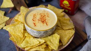 Bulikaja: sajtos mártogatós tortillához