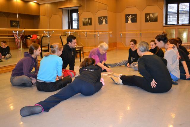 Testképzés az Opera táncosainak