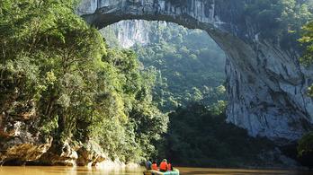 A Google Földdel fedezték fel a leghosszabb természetes hidat