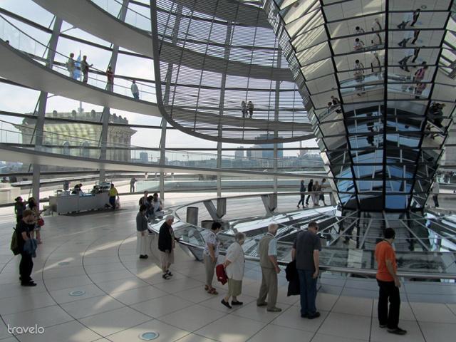 A Reichstag kupolája
