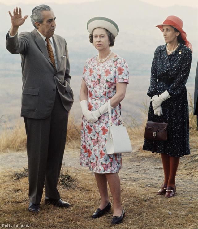 II. Erzsébet a 70-es években