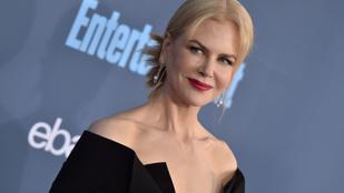 Könnyeivel küszködve beszélt az öregségről Nicole Kidman